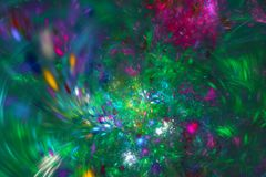 αφηρημένο fractal ανασκόπησης Κατασκευασμένη εικόνα στα πολυ χρώματα Για το δημιουργικό σχέδιό σας διανυσματική απεικόνιση