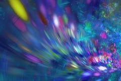 αφηρημένο fractal ανασκόπησης Κατασκευασμένη εικόνα στα πολυ χρώματα απεικόνιση αποθεμάτων