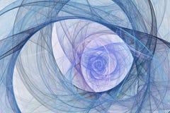 αφηρημένο fractal ανασκόπησης ελεύθερη απεικόνιση δικαιώματος