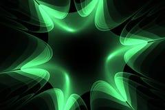Αφηρημένο fractal αστέρι Στοκ Φωτογραφίες