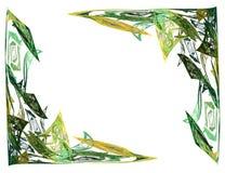 αφηρημένο fractal γωνιών Στοκ Εικόνες