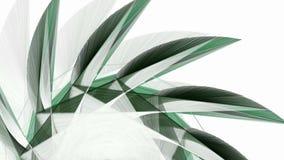 Αφηρημένο fractal διαμορφώνει το κινούμενο υπόβαθρο απεικόνιση αποθεμάτων