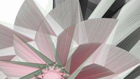 Αφηρημένο fractal διαμορφώνει το κινούμενο υπόβαθρο ελεύθερη απεικόνιση δικαιώματος