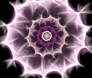 Αφηρημένο Fractal λουλούδι Στοκ εικόνα με δικαίωμα ελεύθερης χρήσης