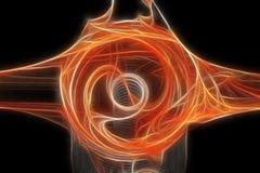 αφηρημένο fractal πρότυπο Διανυσματική απεικόνιση