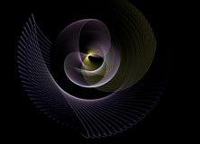 Αφηρημένο Fractal πρότυπο Στοκ Φωτογραφία
