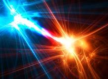 αφηρημένο fractal σφαιρών Στοκ φωτογραφία με δικαίωμα ελεύθερης χρήσης