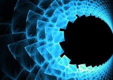 αφηρημένο fractal σχεδιάγραμμα απεικόνιση αποθεμάτων