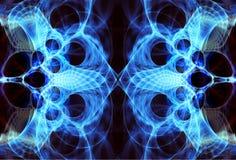 Αφηρημένο fractal υπόβαθρο φλογών Στοκ φωτογραφία με δικαίωμα ελεύθερης χρήσης