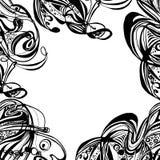 Αφηρημένο hand-drawn αναδρομικό σχέδιο κυμάτων, κυματιστό υπόβαθρο Στοκ φωτογραφίες με δικαίωμα ελεύθερης χρήσης
