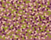 Αφηρημένο hexagon υποβάθρου επίσης corel σύρετε το διάνυσμα απεικόνισης διανυσματική απεικόνιση