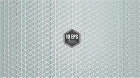 Αφηρημένο hexagon υπόβαθρο σχεδίων στο γκρίζο χρώμα Στοκ φωτογραφία με δικαίωμα ελεύθερης χρήσης