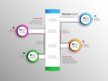 Αφηρημένο infographic σχέδιο Στοκ Εικόνες