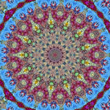 αφηρημένο mandala Διανυσματική απεικόνιση