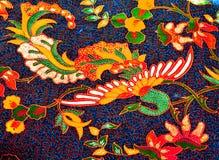 Αφηρημένο Peacock και floral Στοκ Εικόνες