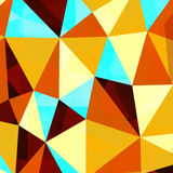 Αφηρημένο polygonal υπόβαθρο επίσης corel σύρετε το διάνυσμα απεικόνισης Διανυσματική απεικόνιση