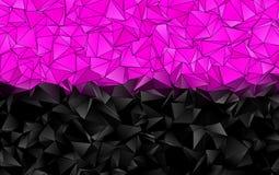 Αφηρημένο polygonal υπόβαθρο απεικόνιση αποθεμάτων