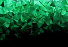 Αφηρημένο polygonal υπόβαθρο Triangulated σύσταση απεικόνιση αποθεμάτων