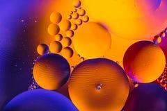 Αφηρημένο sctructure μορίων Μακρο πυροβολισμός του αέρα ή του μορίου αφηρημένη ανασκόπηση Διάστημα ή αφηρημένο υπόβαθρο πλανητών  Στοκ Εικόνες