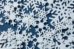αφηρημένο snowflakes απεικόνισης Χριστουγέννων ανασκόπησης διάνυσμα Στοκ Εικόνες