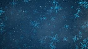 Αφηρημένο snowflakes κυκλωμάτων υπόβαθρο Άνευ ραφής ζωτικότητα χειμερινών διακοπών βρόχων διανυσματική απεικόνιση
