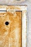 αφηρημένο sumirago του Βαρέζε Ιταλία φερμουάρ χάλυβα padock Στοκ Φωτογραφία