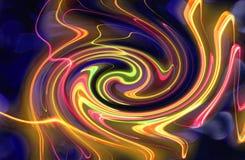 αφηρημένο twirl χρώματος ανασκό ελεύθερη απεικόνιση δικαιώματος