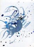 αφηρημένο watercolor ανασκόπησης υψηλό watercolor ποιοτικής ανίχνευσης ζωγραφικής διορθώσεων πλίθας photoshop πολύ Watercolor σχε Στοκ φωτογραφία με δικαίωμα ελεύθερης χρήσης