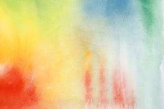 αφηρημένο watercolor ανασκόπησης Στοκ Εικόνα