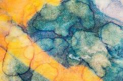αφηρημένο watercolor ανασκόπησης Στοκ Φωτογραφίες