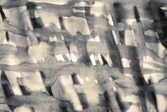 Αφηρημένο watercolor στη σύσταση εγγράφου ως υπόβαθρο Στη σέπια που τονίζεται αναδρομικό ύφος διανυσματική απεικόνιση
