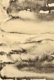 Αφηρημένο watercolor στη σύσταση εγγράφου ως υπόβαθρο Στη σέπια ελεύθερη απεικόνιση δικαιώματος