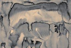 Αφηρημένο watercolor στη σύσταση εγγράφου ως υπόβαθρο Στον τόνο σεπιών Στοκ Εικόνα