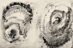 Αφηρημένο watercolor στη σύσταση εγγράφου ως υπόβαθρο Στον τόνο σεπιών Στοκ φωτογραφίες με δικαίωμα ελεύθερης χρήσης
