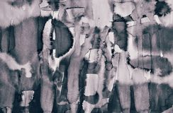 Αφηρημένο watercolor στη σύσταση εγγράφου ως υπόβαθρο Στον τόνο σεπιών διανυσματική απεικόνιση