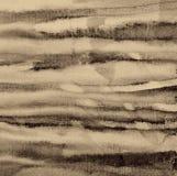 Αφηρημένο watercolor στη σύσταση εγγράφου ως υπόβαθρο Στον τόνο σεπιών απεικόνιση αποθεμάτων