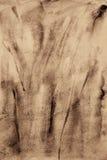 Αφηρημένο watercolor στη σύσταση εγγράφου ως υπόβαθρο Στον τόνο σεπιών Στοκ φωτογραφία με δικαίωμα ελεύθερης χρήσης