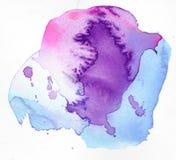 αφηρημένο watercolor χρωμάτων σχεδί&omic Στοκ φωτογραφίες με δικαίωμα ελεύθερης χρήσης