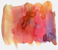 αφηρημένο watercolor Στοκ εικόνα με δικαίωμα ελεύθερης χρήσης