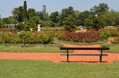 Αφθονία κήπων των λουλουδιών που βρίσκονται κεφάλαιο του Μπουένος Άιρες, Αργεντινή ` s Στοκ φωτογραφία με δικαίωμα ελεύθερης χρήσης