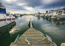 Αφθονία λιμένων των γιοτ πολυτέλειας Στοκ εικόνες με δικαίωμα ελεύθερης χρήσης