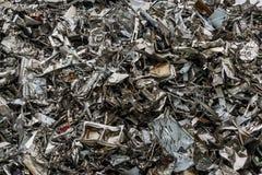 Αφθονία της ανακύκλωσης του χάλυβα Στοκ εικόνες με δικαίωμα ελεύθερης χρήσης