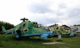 Αφοπλισμένο ελικόπτερο αγώνα Στοκ Εικόνα