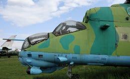 Αφοπλισμένο ελικόπτερο αγώνα Στοκ εικόνες με δικαίωμα ελεύθερης χρήσης