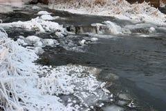 Αφρίζοντας ορμητικά σημεία ποταμού του ποταμού Στοκ εικόνες με δικαίωμα ελεύθερης χρήσης