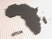 Αφρική Στοκ εικόνες με δικαίωμα ελεύθερης χρήσης