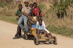 αφρικανικά αγόρια Στοκ Εικόνα
