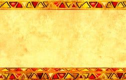 αφρικανικά εθνικά πρότυπα Στοκ Εικόνα