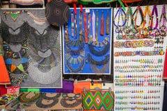 Αφρικανικά καταστήματα εμπορικών συναλλαγών κοσμημάτων   Στοκ Φωτογραφία