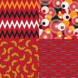 Αφρικανικά μοτίβα Στοκ εικόνα με δικαίωμα ελεύθερης χρήσης